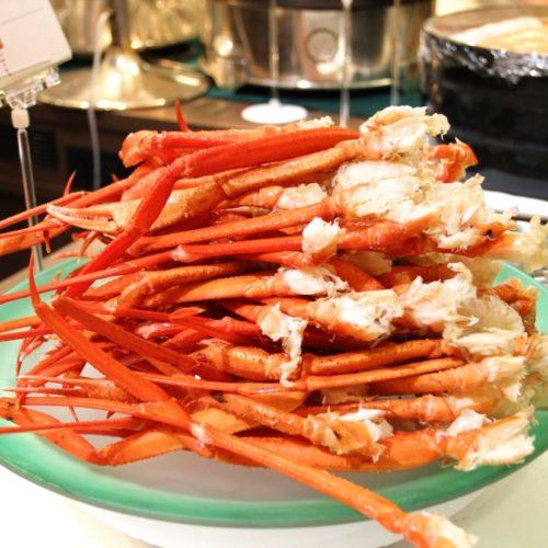 バイエルン(サンシャインシティプリンスホテル)のビュッフェの蟹