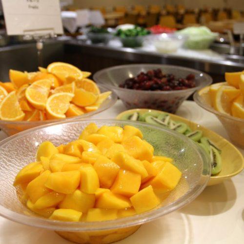 バイエルン(サンシャインシティプリンスホテル)のビュッフェのフルーツ各種