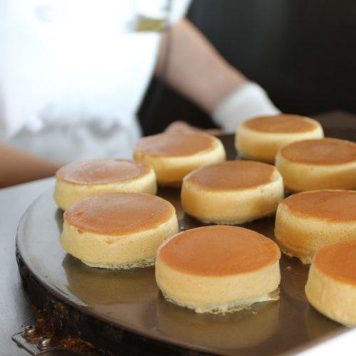 THE Sky(ホテルニューオータニ)のビュッフェのパンケーキ