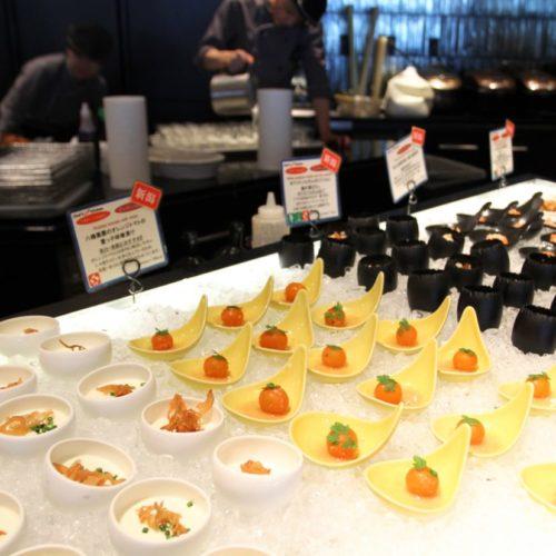 シェフズライブキッチン(インターコンチネンタル東京ベイ)のビュッフェのコールドミール