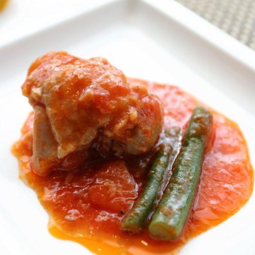 シェフズライブキッチン(インターコンチネンタル東京ベイ)のビュッフェのトマト煮込み
