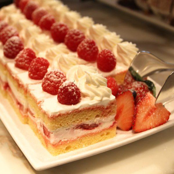 フレンチキッチン(グランドハイアット東京)のビュッフェのショートケーキ