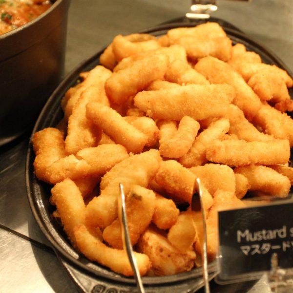 フレンチキッチン(グランドハイアット東京)のビュッフェの白身魚のフライ