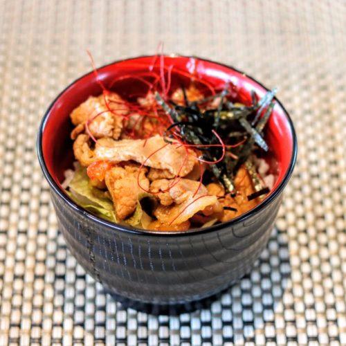 シースケープ(ヒルトン東京お台場)のビュッフェのプルコギ丼