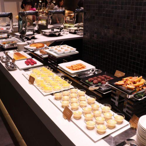 ベルテンポ(ホテルメトロポリタンエドモント)のビュッフェのデザートコーナー
