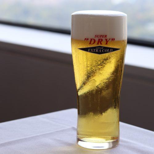 タワービュッフェ(ホテルニューオータニ)のビュッフェのビール