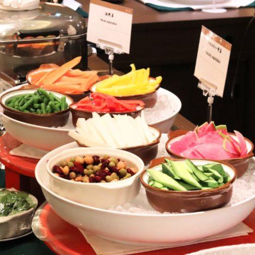 バイエルン(サンシャインシティプリンスホテル)のビュッフェのバラエティー野菜