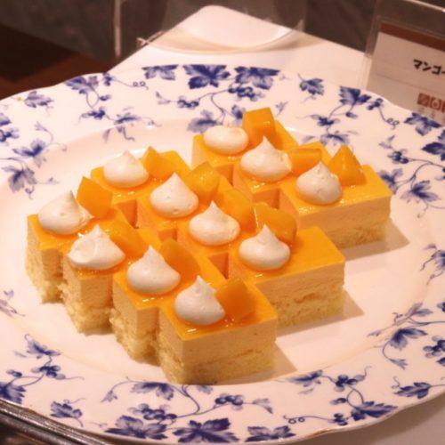 バイエルン(サンシャインシティプリンスホテル)のビュッフェのマンゴームース