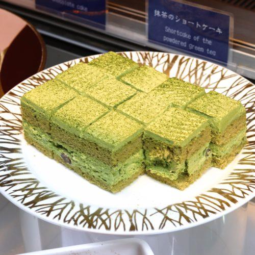 スクエアダイニング(エクセルホテル東急)のビュッフェの抹茶ショート