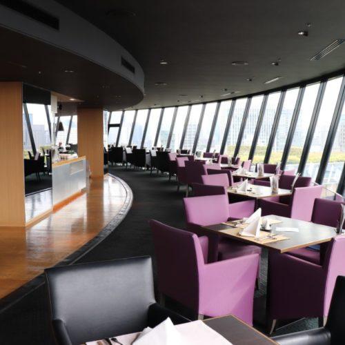 THE Sky(ホテルニューオータニ)のビュッフェの席2