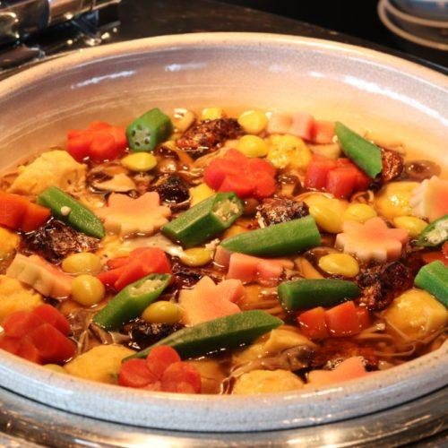 THE Sky(ホテルニューオータニ)のビュッフェの味噌煮