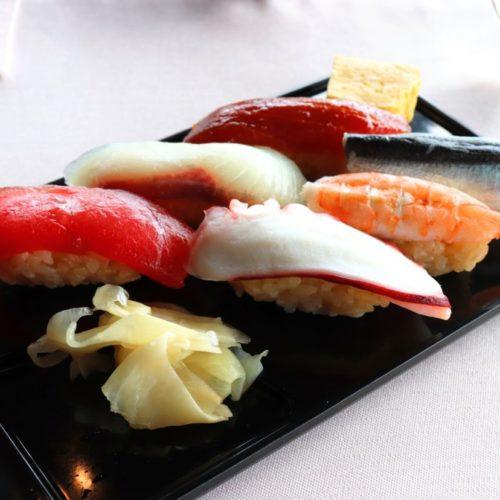 THE Sky(ホテルニューオータニ)のビュッフェの寿司