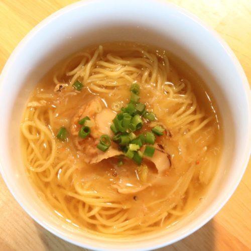 THE Sky(ホテルニューオータニ)のビュッフェの上海蟹入りスープそば