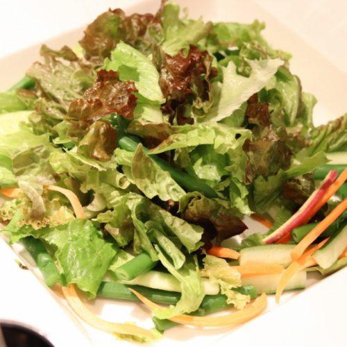 シェフズライブキッチン(インターコンチネンタル東京ベイ)のビュッフェのグリーンサラダ