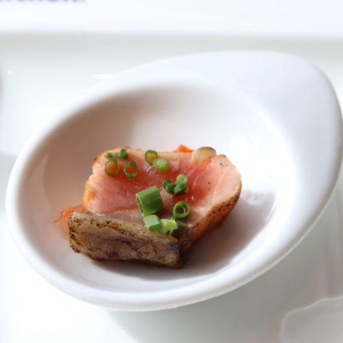 シェフズライブキッチン(インターコンチネンタル東京ベイ)のビュッフェの鮭の焼き漬け