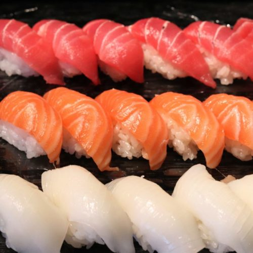 シェフズライブキッチン(インターコンチネンタル東京ベイ)のビュッフェの寿司1