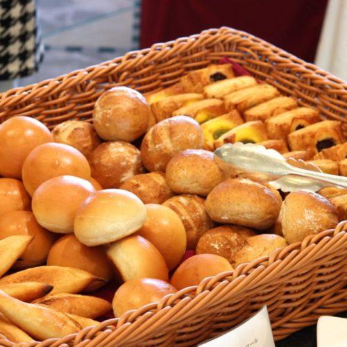パラッツオ(ロイヤルパークホテル)のビュッフェのパン