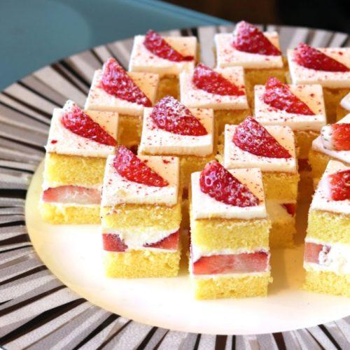 パラッツオ(ロイヤルパークホテル)のビュッフェのショートケーキ