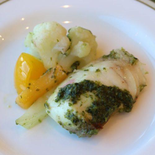 パラッツオ(ロイヤルパークホテル)のビュッフェの魚料理