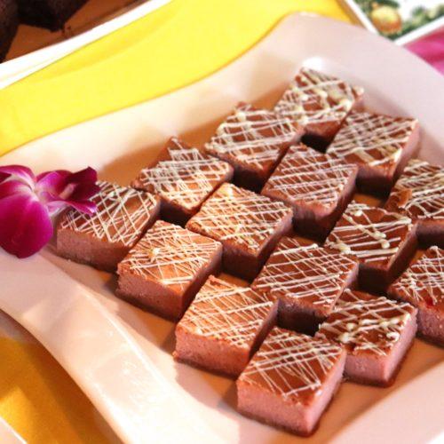 トレーダーヴィックス(ホテルニューオータニ)のビュッフェのチーズケーキ