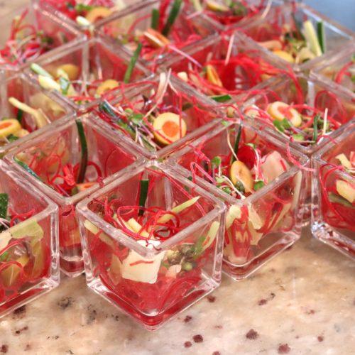 ハーモニー(ロイヤルパークホテル汐留)のビュッフェのキャベツのサラダ