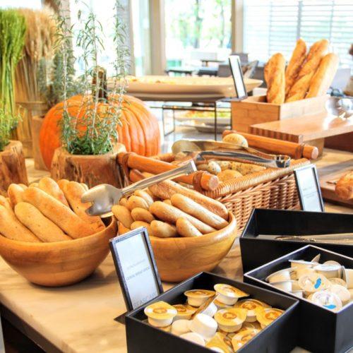 シースケープ(ヒルトン東京お台場)のビュッフェのパン