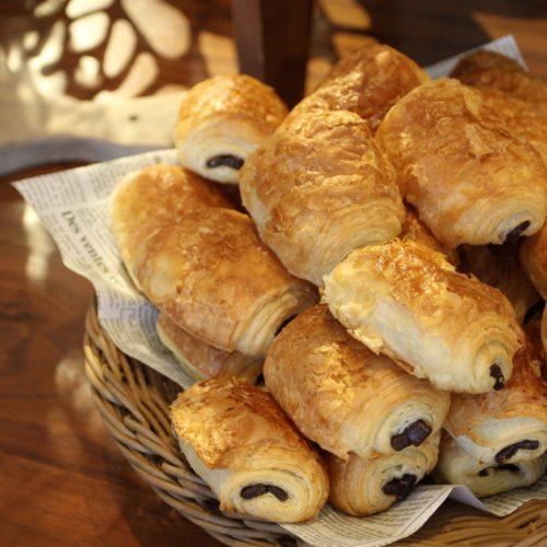 ラパランツァ(第一ホテルアネックス)のビュッフェのパンオショコラ