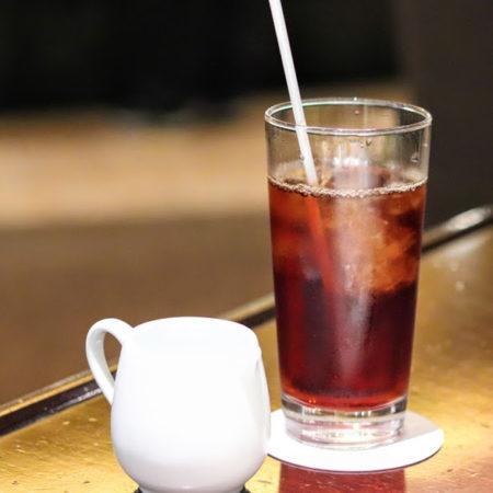カスケイドカフェ(ANAインターコンチネンタル東京)のビュッフェのアイスコーヒー