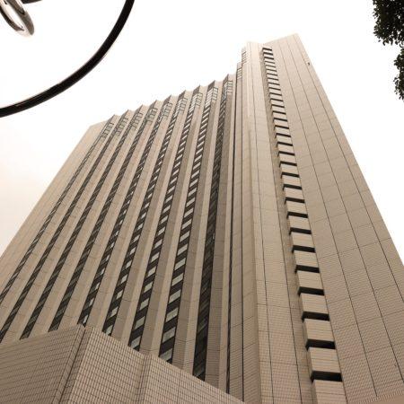 カスケイド(ANAインターコンチネンタル東京)のビュッフェのホテル外観