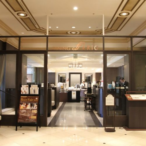 フェリオ(リーガロイヤルホテル東京)のビュッフェのレストランエントランス