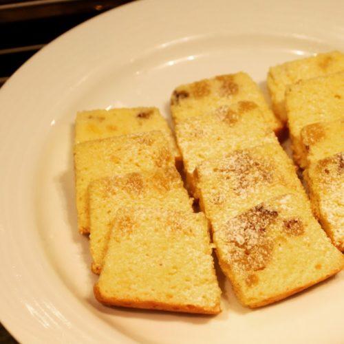 フェリオ(リーガロイヤルホテル東京)のビュッフェのパウンドケーキ