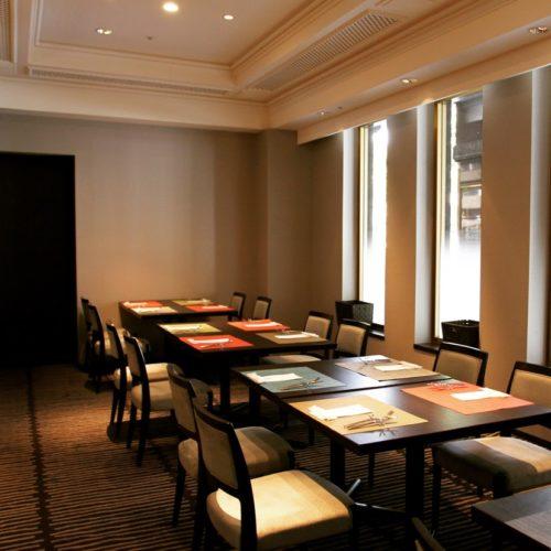 フェリオ(リーガロイヤルホテル東京)のビュッフェの個室