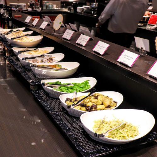 フェリオ(リーガロイヤルホテル東京)のビュッフェのサラダ2