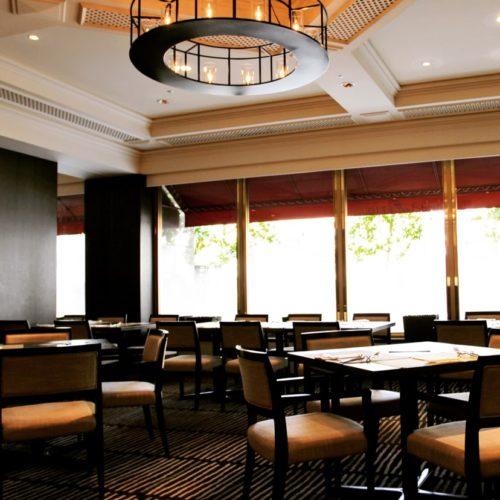 フェリオ(リーガロイヤルホテル東京)のビュッフェの席2