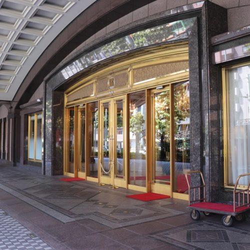 フェリオ(リーガロイヤルホテル東京)のビュッフェのホテルエントランス