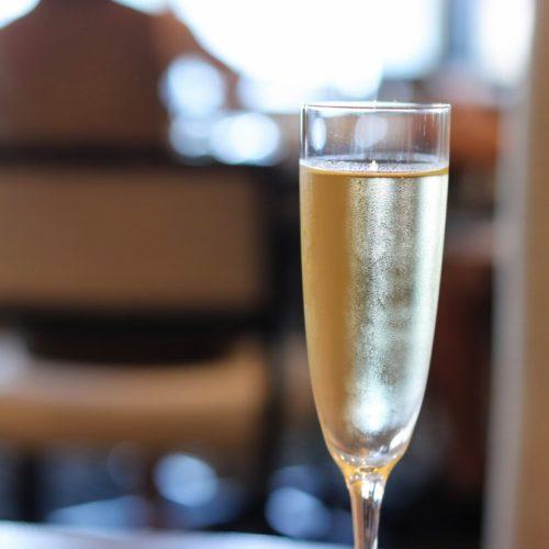 フェリオ(リーガロイヤルホテル東京)のビュッフェのスパークリングワイン
