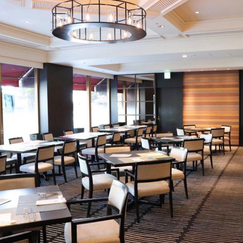 フェリオ(リーガロイヤルホテル東京)のビュッフェの席1