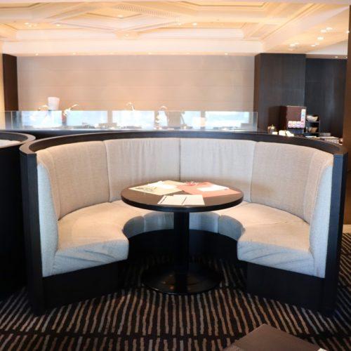 フェリオ(リーガロイヤルホテル東京)のビュッフェの席3