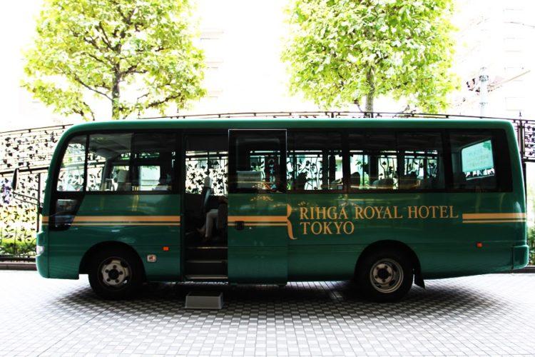 フェリオ(リーガロイヤルホテル東京)のビュッフェのシャトルバス