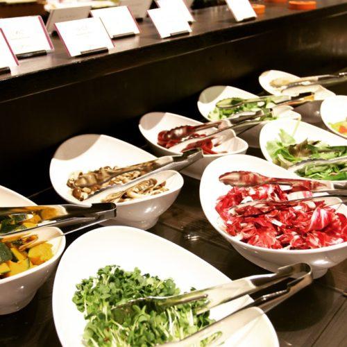 フェリオ(リーガロイヤルホテル東京)のビュッフェのサラダ1