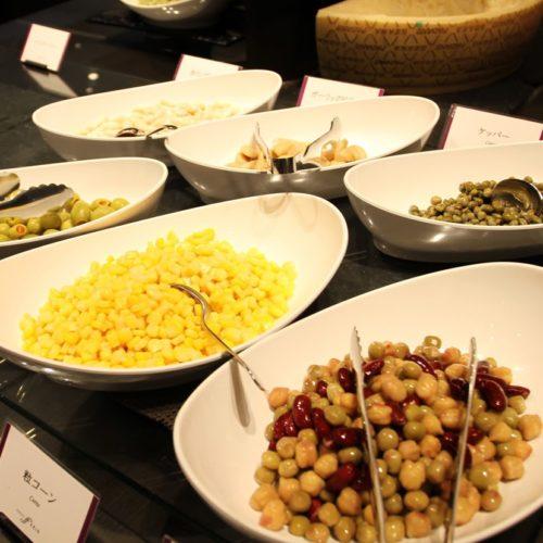 フェリオ(リーガロイヤルホテル東京)のビュッフェのサラダ3