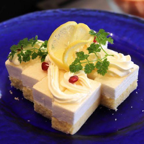 一休掲載 ガーデンダイニング(グランドニッコー東京 台場)のビュッフェ クリームチーズケーキ