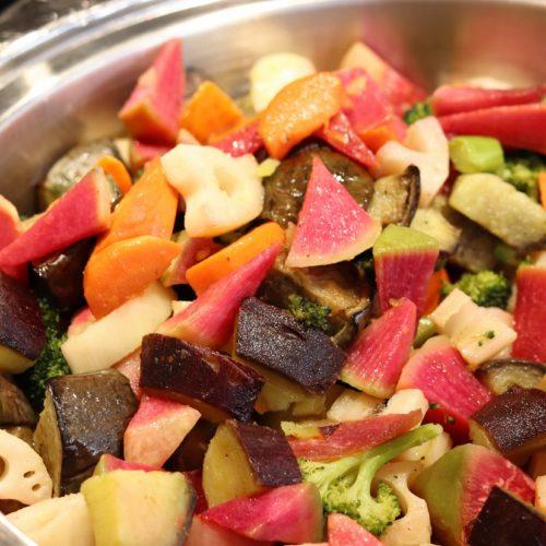 一休掲載|ガーデンダイニング(グランドニッコー東京 台場)のビュッフェ|季節野菜のロースト香草風味