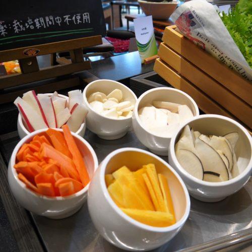 一休掲載 ガーデンダイニング(グランドニッコー東京 台場)のビュッフェ カット野菜