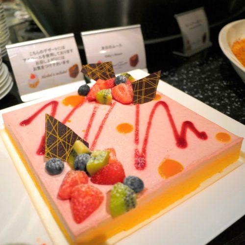 グラスコート(京王プラザホテル)のビュッフェの本日のムース
