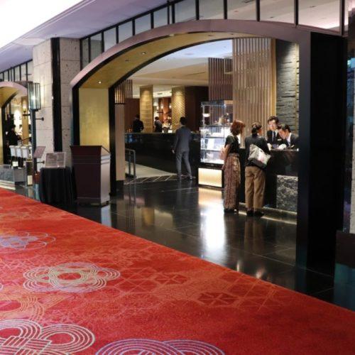 カナデテラス(ホテル雅叙園東京)のビュッフェのお店の入口