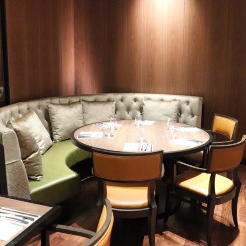カナデテラス(ホテル雅叙園東京)のビュッフェの席3