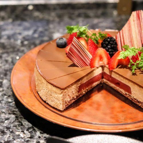 カナデテラスのランチビュッフェ|ムースショコラ