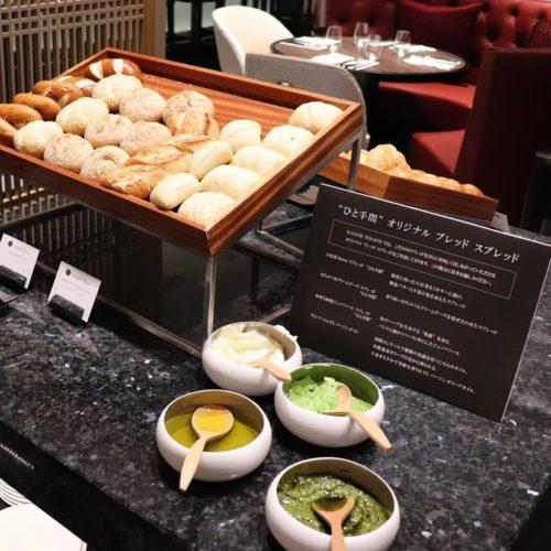 カナデテラス(ホテル雅叙園東京)のビュッフェのオイル