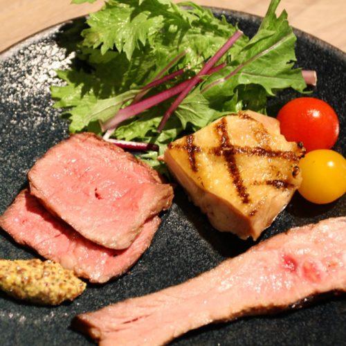 カナデテラスのランチビュッフェ|肉のグリル